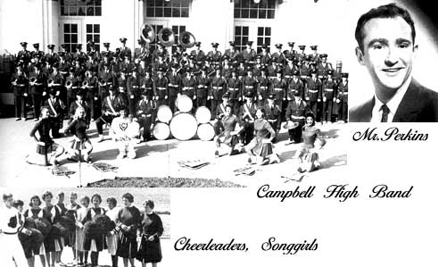 Campbell High Band with Don Perkins, leader
